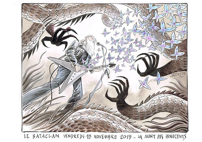 Vendredi 13 Novembre, les attentats de Paris