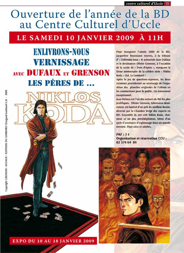 Exposition Niklos Koda à Uccle