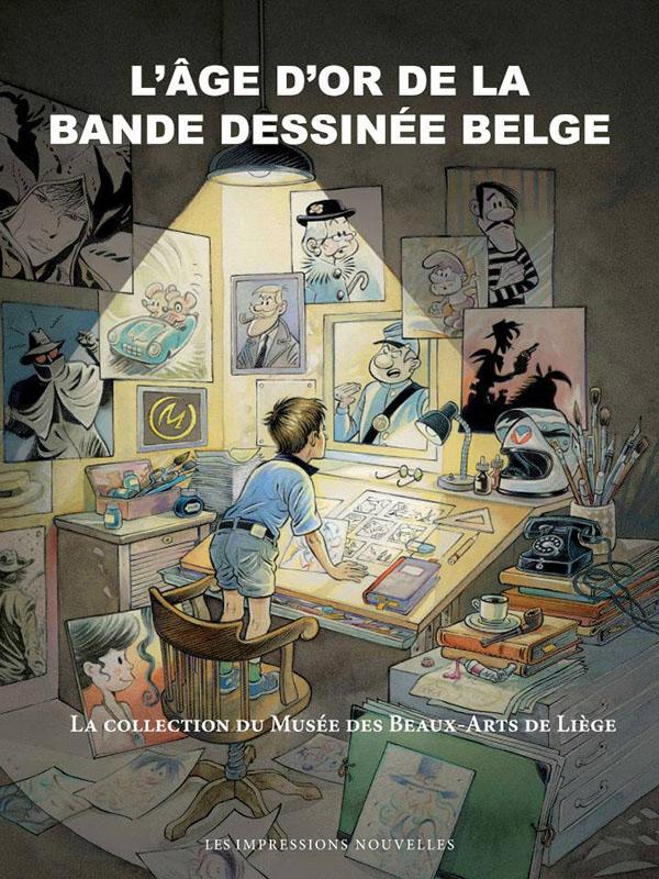 Expo l'âge d'or de la Bande Dessinée belge
