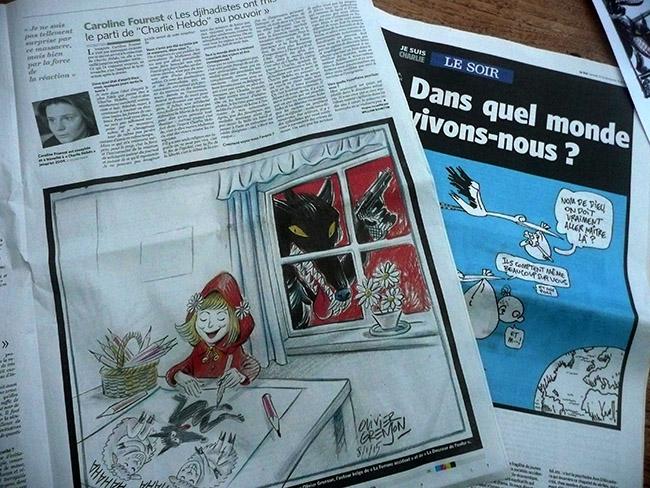 Le soir – Charlie Hebdo
