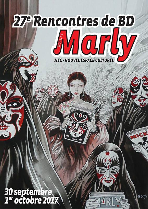 Festival BD Marly en Moselle