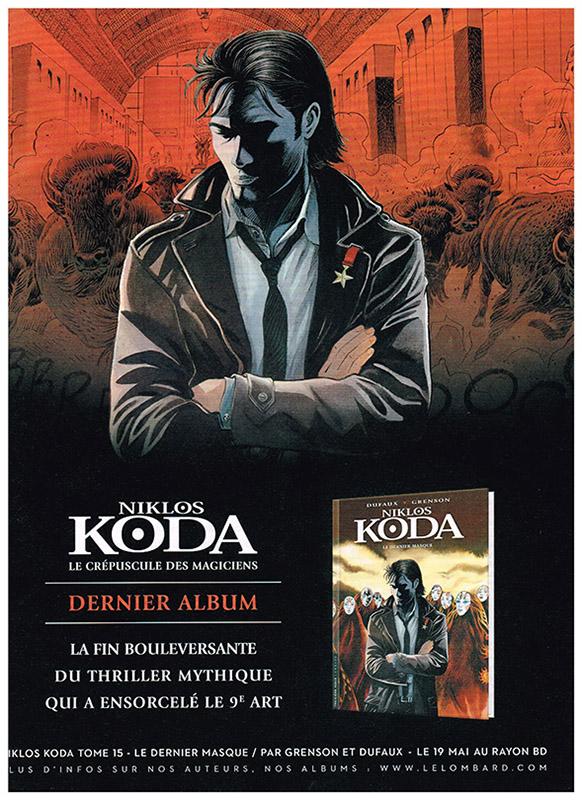 Niklos Koda Tome 15